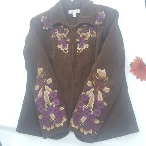COLDWATER CREEK Extraordinary Embellished Jacket